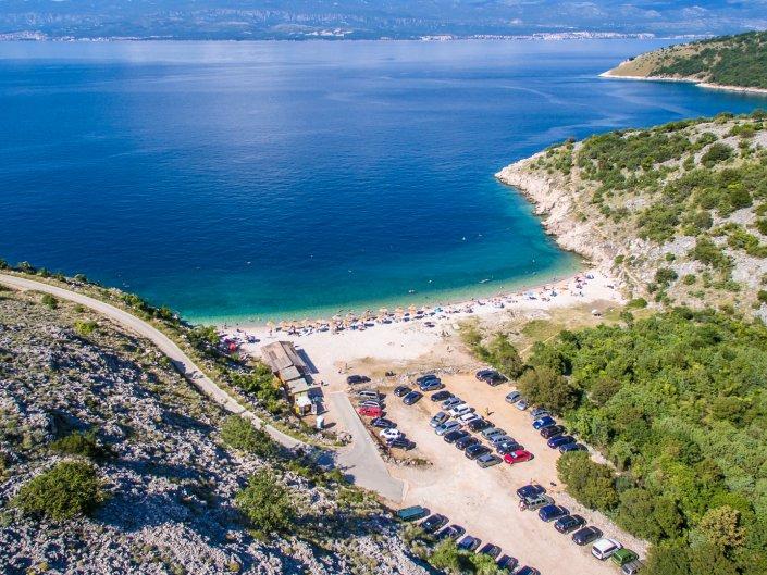 Vrbnik & plaža Potovošće