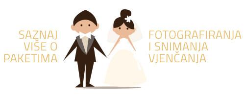 Paketi fotografiranja vjenčanja
