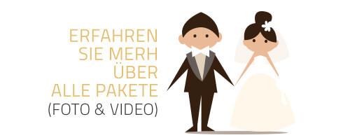 Hochzeitsfotografie Pakete
